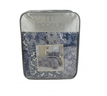 "Покрывало ""MODALIN"" пэчворк двухсторонний 230x250 (50x70)*2 см V10"