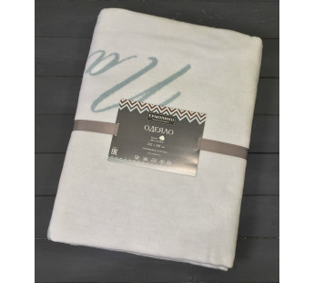 Льдистый Стрекоза 5772ВЖК Премиум 212х150 100 % х/б Байковое жаккард Ермолино одеяло