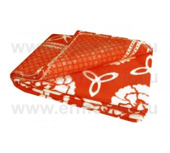 Красный Байковое жаккард 215х150 арт. 5772ВЖ 75% х/б +25% вискоза х/б Ермолино одеяло