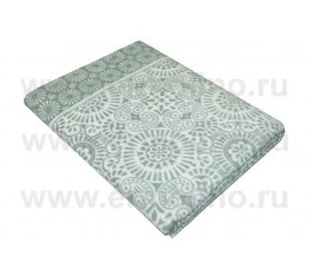 Темно-Серое Ажур Байковое жаккард 215х150 100% х/б арт. 5772ВЖК Ермолино одеяло