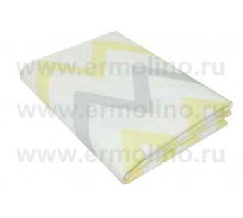 Зигзаги Байковое жаккард 205х150 100% х/б арт. 5772ВЖК/М Ермолино одеяло