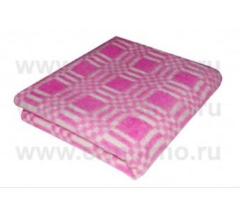 Малина Байковое 100х140 арт. 57-3ЕТ 90% х/б Ермолино одеяло