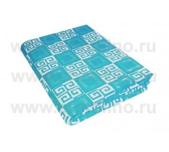 Серо-голубой ( Элегант ) Байковое жаккард 215х150 100% х/б арт. 5772ВЖК Ермолино одеяло
