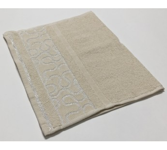 Шампань Arabeska 30х50 хлопок махра полотенце (1шт) Фиеста