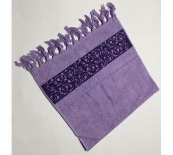 Сирень Classik 70х130 бамбук махра полотенце (1шт) Фиеста