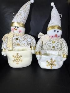 снеговик с карманом (1 шт ) арт. GCK 4333 LIKE TEXTILE