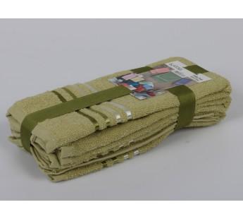"""Салфетки махровые """"KARNA"""" BALE (30x50) см 1/3 Зеленый"""