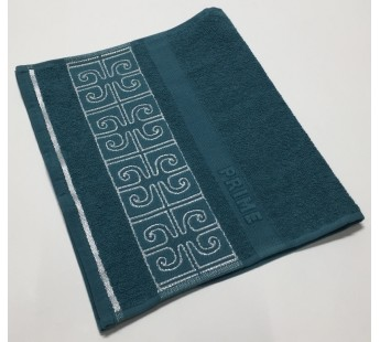 Морская волна Prime 30х50 хлопок махра полотенце (1шт) Фиеста