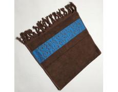 Коричневый Classik 70х130 бамбук махра полотенце (1шт) Фиеста