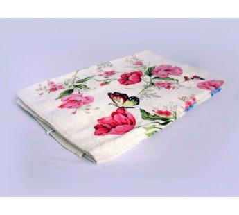 Полотенце махровое хлопковое Япония (розовый) 45x90 Махра