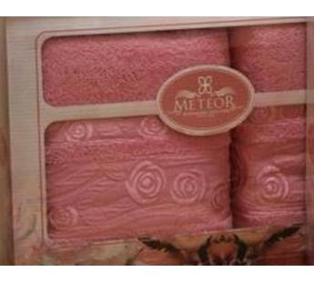 8501 Розовый ROSE GARDEN (50х90+70х140 ) в коробке METEOR