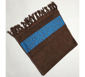 Коричневый Classik 50х90 бамбук махра полотенце (1шт) Фиеста