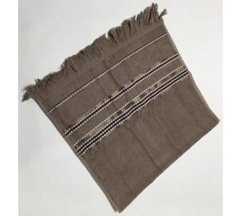 Бежевый Econik 70х130 бамбук махра полотенце (1шт) Фиеста