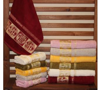8381 Towel Бамбук 50х90 (6) 480гр.полотенце TWO DOLPHINS