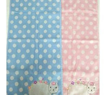 6001 Кошка Махра 34х75 ( 12шт ) полотенце 7-Я