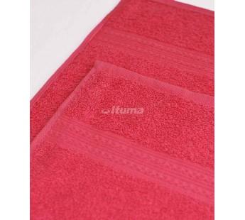 Малиновое 100х180 Полотенца махровое 1 шт ITUMA