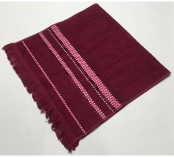 Бордо Econik 50х90 бамбук махра полотенце (1шт) Фиеста