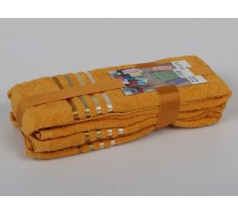 "Салфетки махровые ""KARNA"" BALE (30x50) см 1/3 Темно-Желтый"