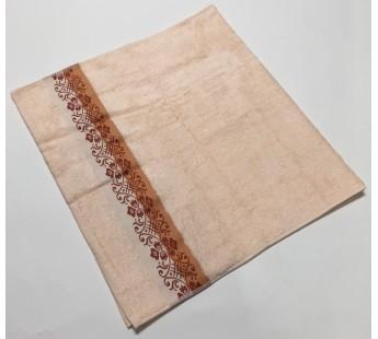 Сальмон Jardin 70х130 бамбук махра полотенце (1шт) Фиеста