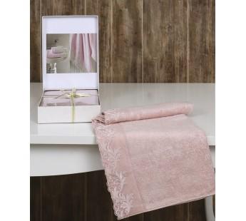 """Полотенце бамбук """"ALTINBASAK"""" KLEOPATRA (50x90) см 1/1 Розовый"""