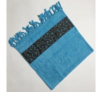 Бирюза Classik 50х90 бамбук махра полотенце (1шт) Фиеста