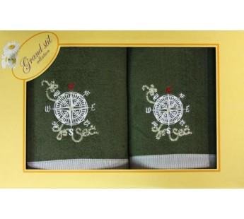 Азимут 45х90+65Х135 полотенце в коробке N14-241