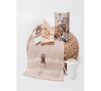 9506 Кофе В (40х60)х3шт в коробке Набор кухонный Метеор