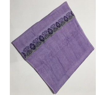 Сирень Jardin 70х130 бамбук махра полотенце (1шт) Фиеста