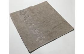 Бежевый Cotton ( Бабочка ) 70х130 хлопок махра полотенце (1шт) Фиеста