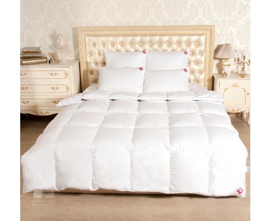 Одеяло Камилла 200х220 гусиный пух теплое Легкие Сны