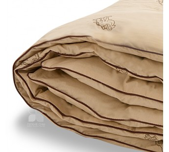 """Одеяло """"Верби"""" 140х205 верблюжья шерсть теплое Легкие Сны"""