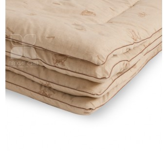 """Одеяло """"Полли"""" 110х140 овечья шерсть теплое Легкие сны"""