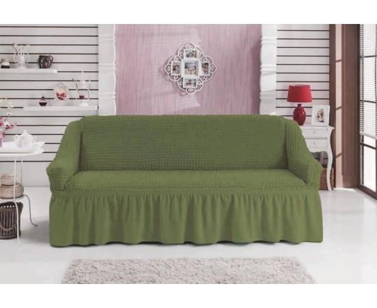 Чехол для дивана BULSAN двухместный Зеленый