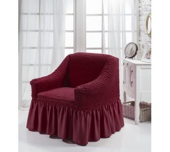 """Чехол для кресла """"BULSAN"""" Бордовый"""