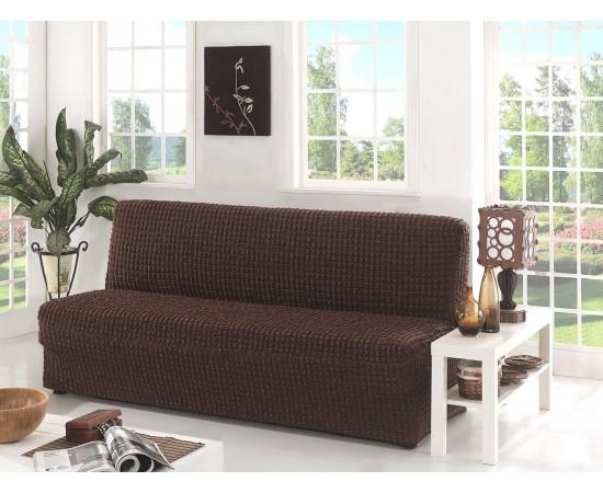 Чехол для дивана KARNA трехместный без подлокотников, без юбки