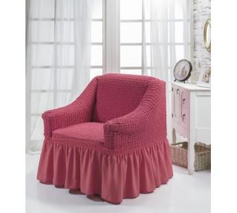 """Чехол для кресла """"BULSAN"""" Грязно-розовый"""