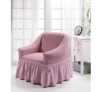 """Чехол для кресла """"BULSAN"""" Светло-розовый"""