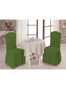 Чехлы на стулья 1/2 Зеленый