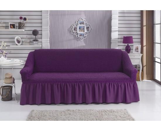 Чехол для дивана BULSAN двухместный Фиолетовый