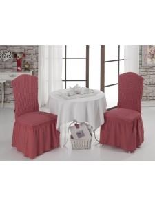 Чехлы на стулья 1/2 Грязно-розовый