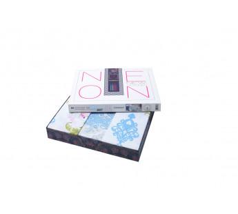 Постельное бельеТурция ранфорс MONALIZ (Eвро) 50х70*2 шт
