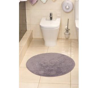 """Коврик для ванной """"MODALIN"""" круглый CORCUS 75x75 см 1/1 Фиолетовый"""