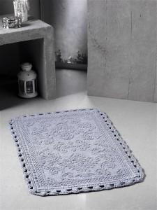 """Коврик для ванной """"MODALIN"""" кружевной DARIN 55x85 см 1/1"""