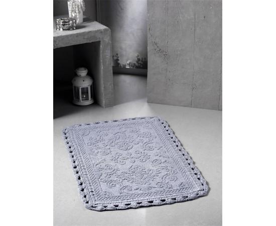 Коврик для ванной MODALIN кружевной DARIN 55x85 см 1/1