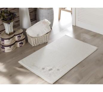 """Коврик махровое для ванной """"IRYA"""" французский кружевной PEARLY 60x90 см 1/1"""