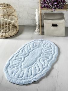 """Коврик для ванной """"MODALIN"""" овальная WENGE 50x80 см 1/1"""