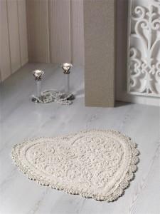 """Коврик для ванной """"MODALIN"""" кружевной SISLEY 60x65 см 1/1"""
