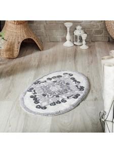 """Коврик для ванной """"MODALIN"""" овальная VERA 50x80 см 1/1"""