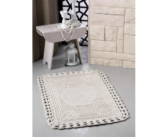 Коврик для ванной MODALIN кружевной FLORA 55x90 см 1/1