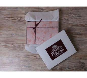 Комплект постельного белья Apricot Palette Grass Евро